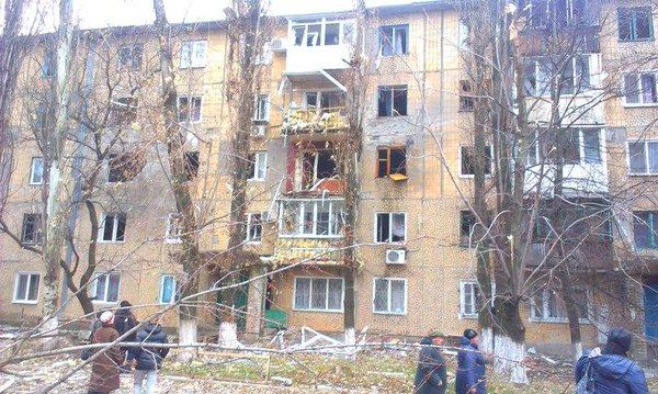 Avdiivka the consequences of today's shooting.