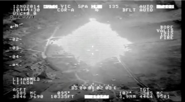 Iraq; MoD releases footage of 6 airstrikes from around the country