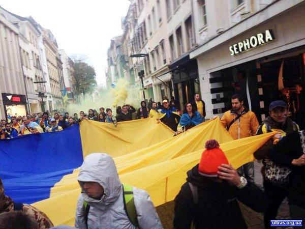 Luxembourg - Ukraine matchday