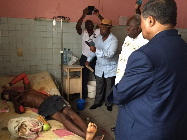Gabon: Young man was burned by Ali Bongo's police during a peaceful march