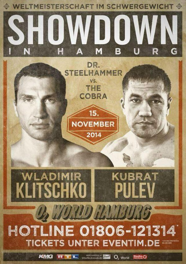 Boxing night in Ukraine. Klitschko vs Pulev