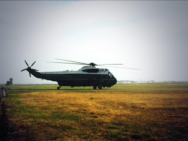 It's takeoff time for US Marine One G20Brisbane avgeek