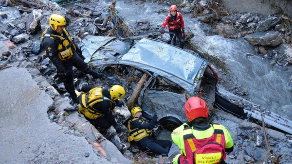 Four dead as heavy rains batter Italy and Switzerland