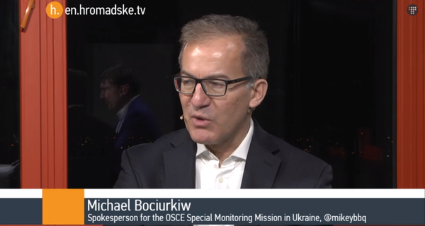 We havent seen or been informed of one pullback of artillery -Bociurkiw @OSCE_SMM hromadske