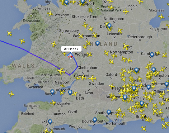 CityJet from Dublin to Paris is declaring an emergency