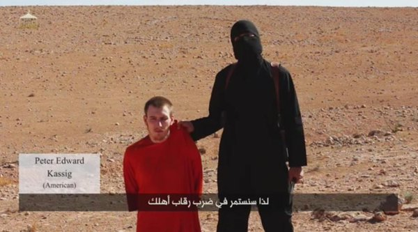 White House Confirms Death of US Aid Worker, Peter Kassig -
