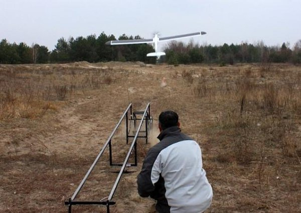 The Ukrainian military has tested drones.