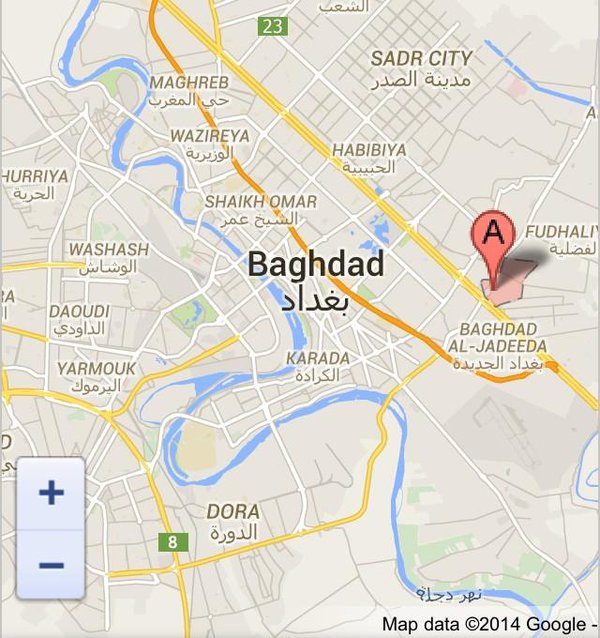 Iraq; a car bomb in a crowded road in Mashtal neighbourhood, eastern Baghdad killed 8 martyrs & wounded 15 others.