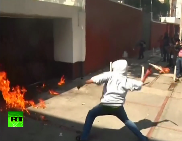 Mexico protesters attack party offices, throw Molotov cocktails