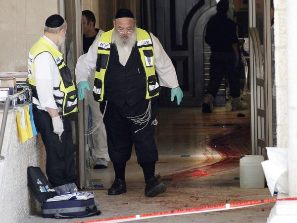 Police: 3 dual U.S.-Israeli citizens, all rabbis, among dead in Jerusalem synagogue attack -