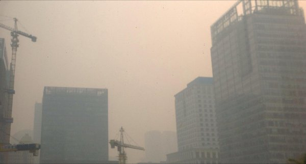 Beijing invisible in toxic smog today