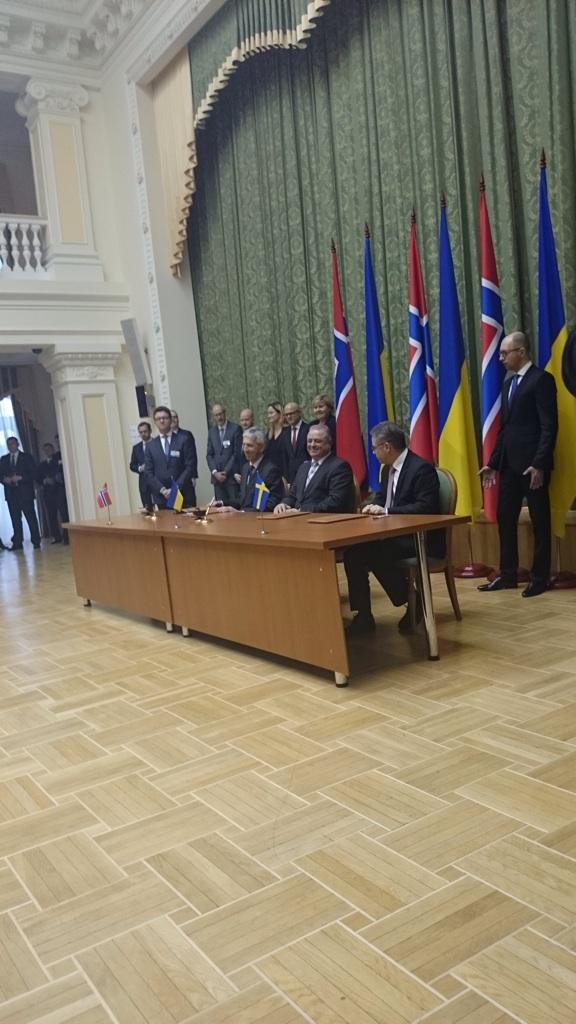 Sweden, Norway and Ukraine signed an agreement on cooperation in the field of nuclear safety and security at Ukrainian NPPs.
