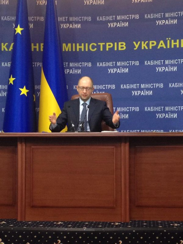 It's our goal to prevent large-scale mil conflict in Europe which is being provoked by Russia - @Yatsenyuk_AP