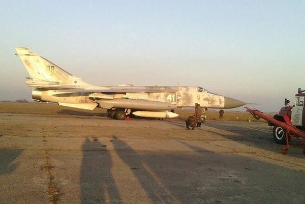 Mykolaiv aircraft plant repaired a supersonic bomber