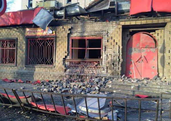 Massive missile attack on Debaltsevo - a minimum of 5 residents suffered