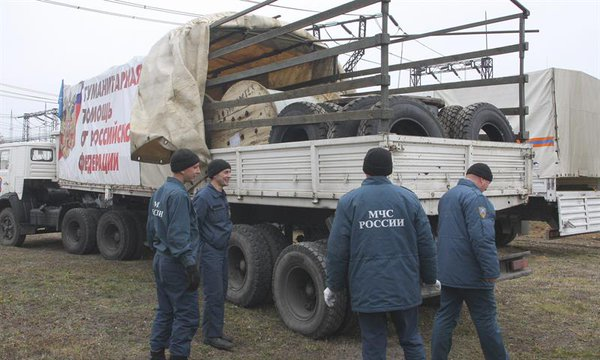 Humanitarian aid from Russia
