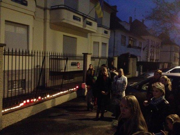 Ukrainians of Strasbourg mourn Holodomor victims