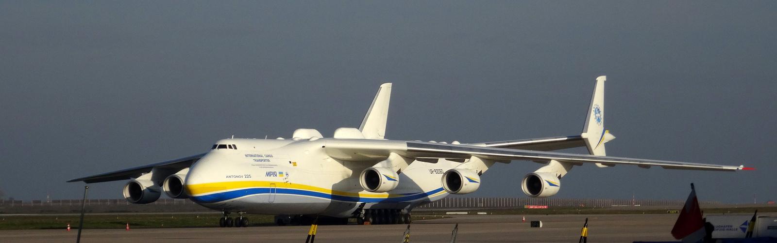Antonov An-225 in Leipzig