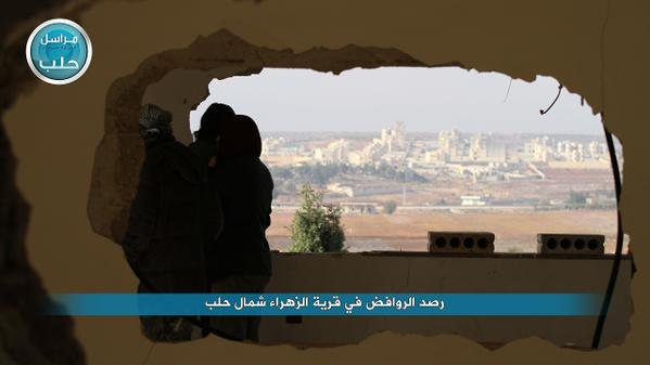 Zahraa town in N-Aleppo taken by Rebels this morning
