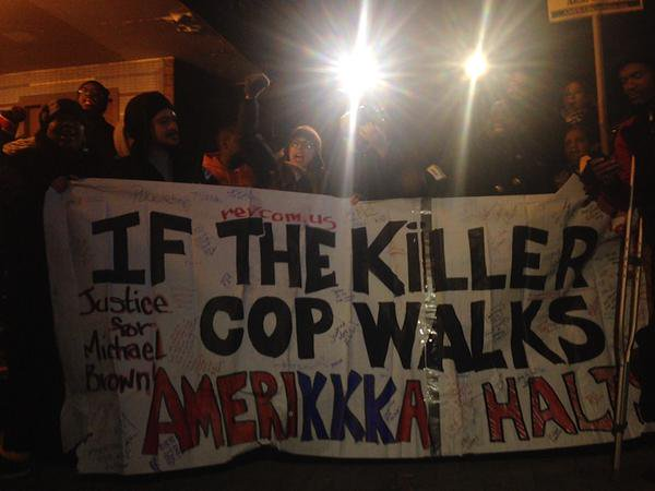 Ferguson comesto Brooklyn: Protest After NYPD Kills Unarmed AkaiGurley