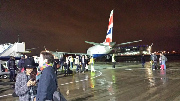 Fire breaks out at London City Airport terminal building evacuated.