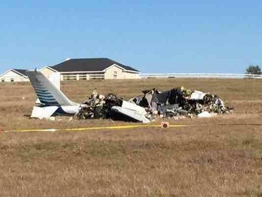Texas Man Killed In Plane Crash