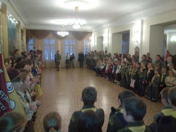 25th anniv - Plast/Ukr scouting in Kyiv. Canadians helped reintroduce century-old, future-facing youth org 2 Ukraine