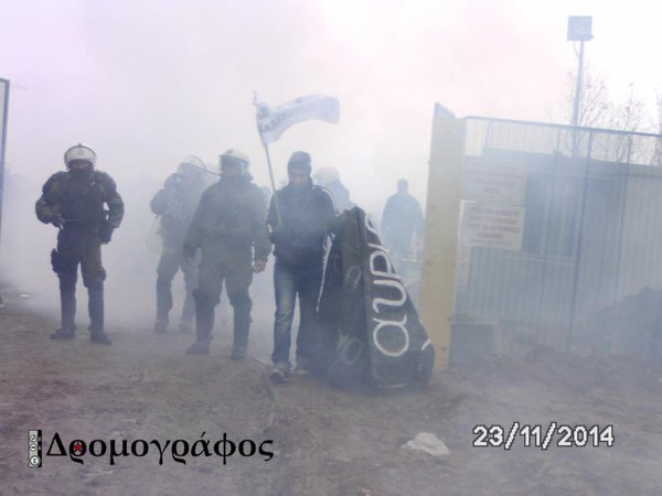 Greece: Heavy police repression of protest against the Skouries mine