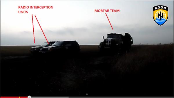 Azov Batt.located Russia terrorists by radio sig.& Ukraine mil neutralized