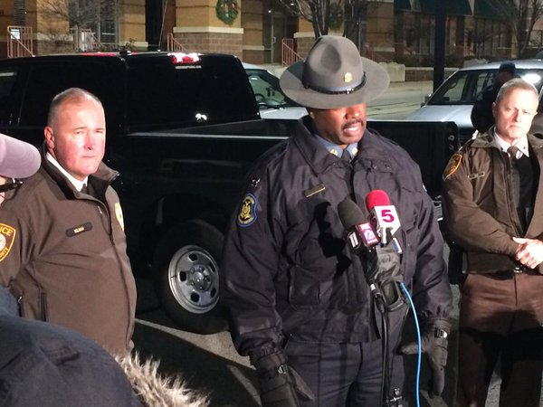 Our community's got to take some responsibility for what happened tonight, Capt Johnson says. Ferguson @kmoxnews