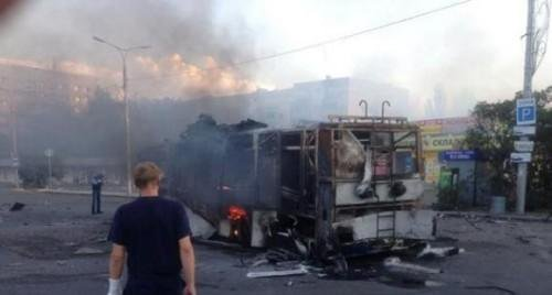 Donetsk city Council: killed 3 civilians, 8 injured