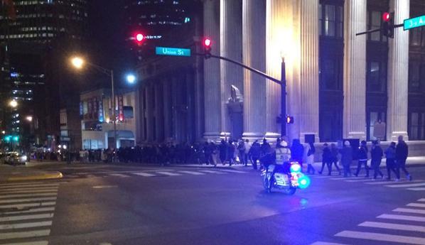 Hundreds Marching In Nashville -Ferguson