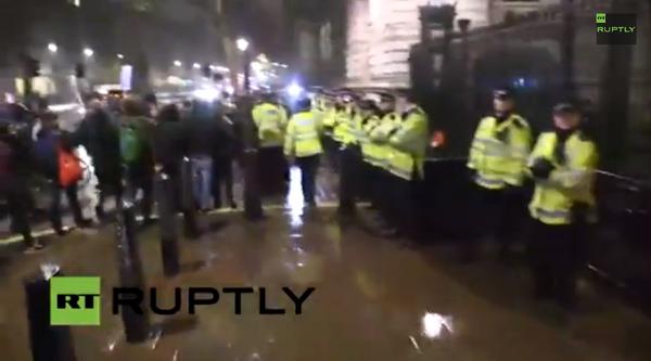 LondonToFerguson Protesters Clash With Police  Ferguson