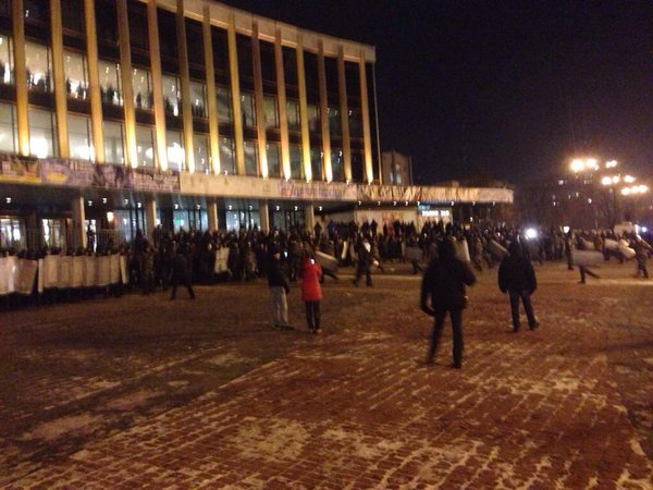 Police protecting concert of pro-Russian singer in Kyiv