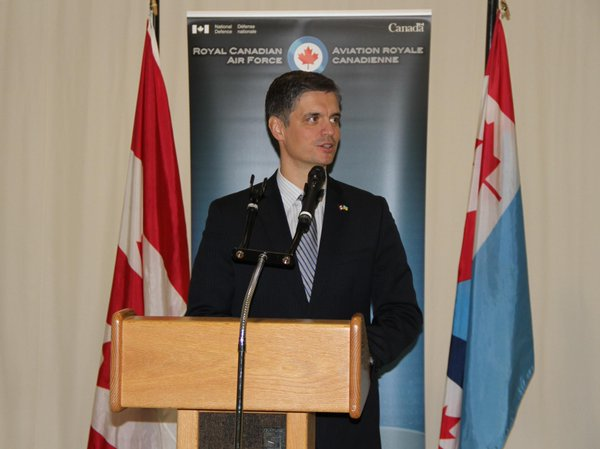 Ambassador of Ukraine to Canada.Prystaiko: aircraft with military aid from Canada flew to Ukraine