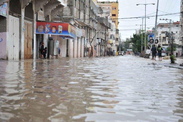 UNRWA declares emergency because of widespread floods in Gaza & steps up emergency preparedness