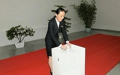 North Korea announces Kim Jong-un's sister promoted to senior party official