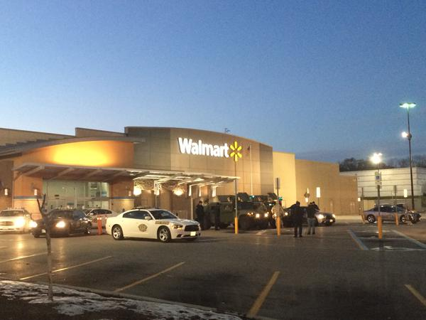 National Guard defending Walmart