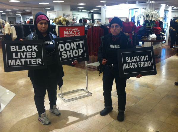 Inside Macy's NYC BlackoutBlackFriday