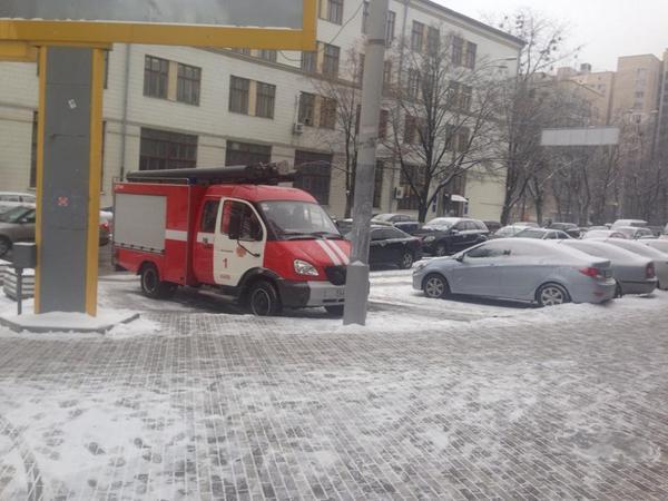Ukrainska pravda office was evacuated due to bomb threat. Also Ocean Plaza