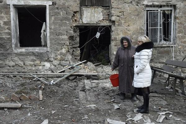 Shells damage Donetsk water board building, - city council