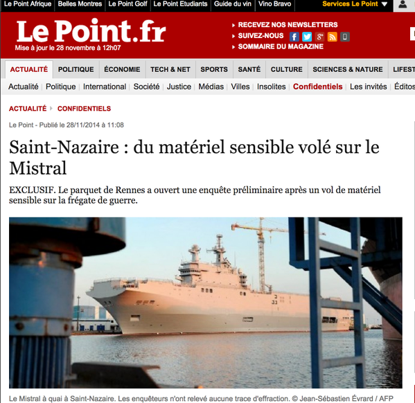 Data and high-tech equipment stolen from Mistral.