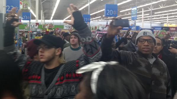 2nd Walmart protest tonite in Ferguson