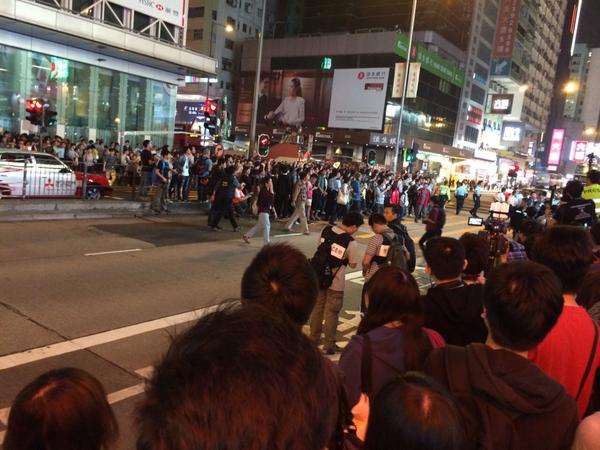 Nathan Road OccupyHK