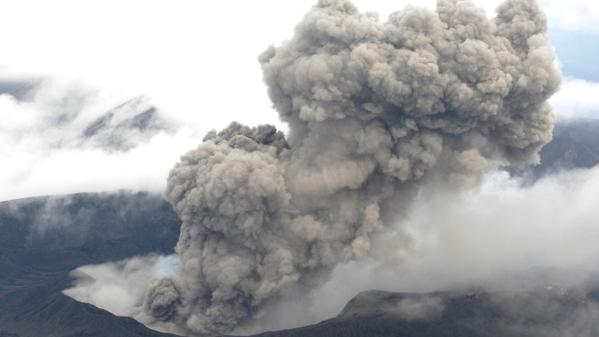 Japan's Mount Aso erupts for first time in 22 years, disrupting flights