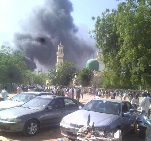At least 50 bodies seen at site of mosque bombing in Nigeria, witness tells the BBC v @PzFeed