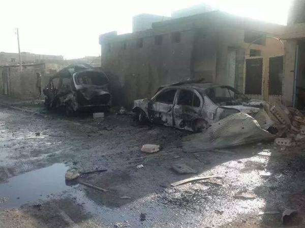 SAA helicopter gunships attack kills 3 civilians in Shaddadi Hassak, leaves wide-scale destruction Syria