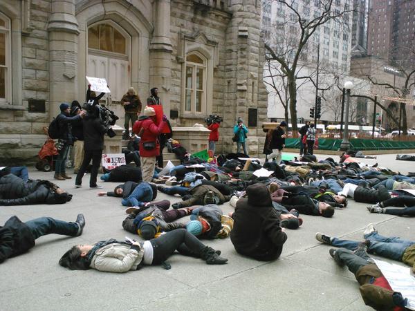 BlackoutBlackFriday in Chicago
