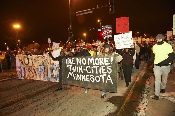 Protests and Rallies in Minneapolis