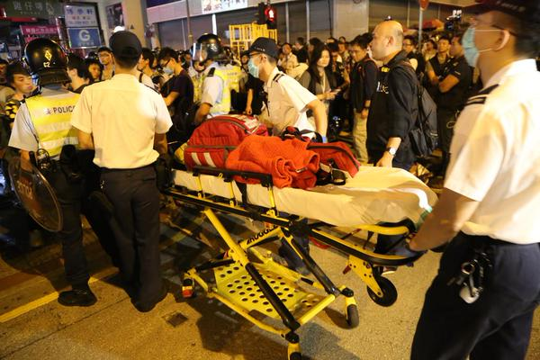 Casualties in SYC St Mongkok